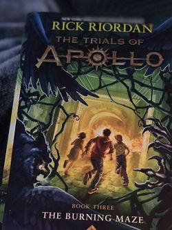 The Trials Of Apollo Book Three for Sale in Centreville,  VA
