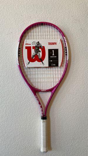 BRAND NEW Pink Triumph Tennis Racket Raquet for Sale in Murrieta, CA