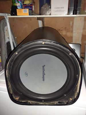 "12"" Rockford Fosgate P1 for Sale in Redwood City, CA"