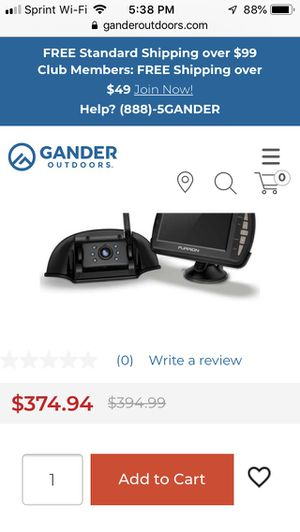 Furrion backup camera system wireless for Sale in Fayetteville, NC