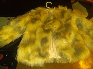 Toddler girl size 2t fur coat for Sale in Washington, DC