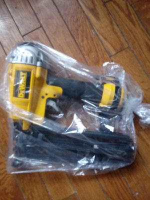 Brand new dewalt nail gun for Sale in Pittsburgh, PA