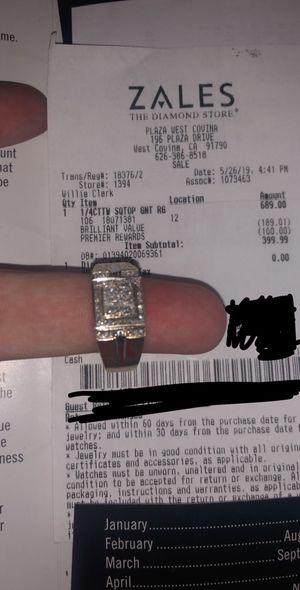 Gold diamond ring for Sale in Costa Mesa, CA