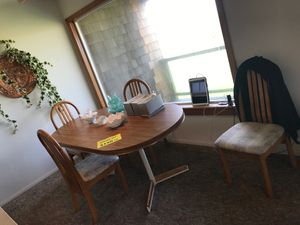 Kitchen table with 4 chairs $55 for Sale in Sandy, OR