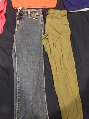 Young girls pants shorts skirts size Large for Sale in Gilbert, AZ