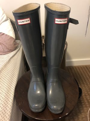 Grey Tall Hunter Boots- Size 7 for Sale in Columbus, OH