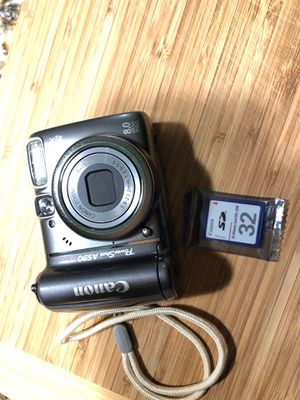 PowerShot A590IS Digital Camera - Canon for Sale in Hopedale, MA