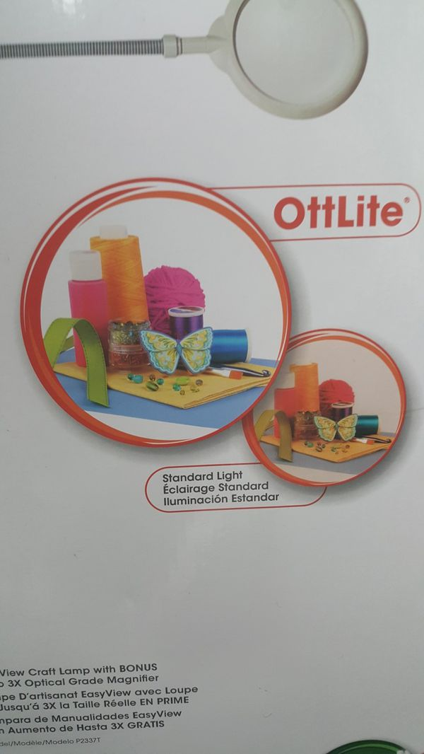Makes life 4k - OttLite EasyView Floor Lamp | Standing Lamps and Lights