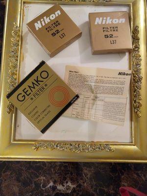 Nikon/ Gemko Camera filters for Sale in Spanaway, WA