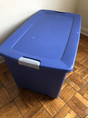Storage Moving Tote Container for Sale in Baltimore, MD