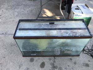 Fish tank with parts for Sale in Upland, CA