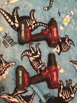 Craftsman Impact and Drill Driver 20V DieHard for Sale in Fort Myers, FL