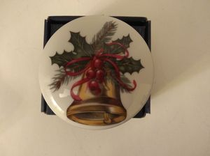 Countess Collection of Bohemian Art Glass Christmas Trinket Dish for Sale in Brooklyn, NY