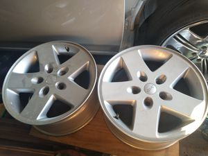Jeep Wrangler wheels, set of 4, 5x5 for Sale in McKeesport, PA
