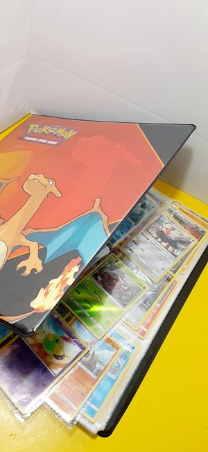 POKEMON BINDER LOT.360 CARD'S COLLECTIBLES GREAT CONDITION PRACTIC NEW for Sale in Houston, TX