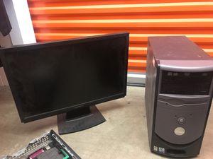 Dell computer and monitor for Sale in Santa Monica, CA