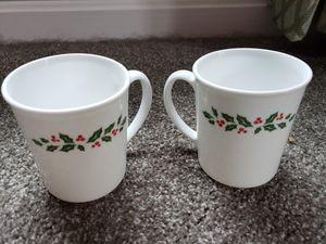 2 corningware holiday mugs for Sale in Hanover, PA