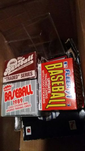 3 boxes of baseball cards for Sale in Arnold, MO