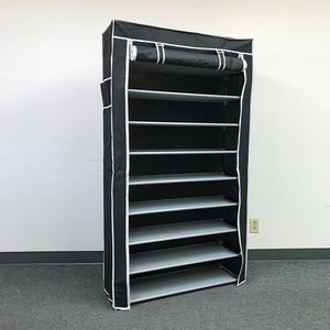 """(New In Box) $25 each 10-Tiers 45 Shoe Rack Closet with Fabric Cover Storage Organizer Cabinet 36x12x62"""" for Sale in La Habra Heights, CA"""