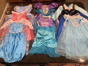 Disney Princess dresses Halloween costume for Sale in Chesapeake, VA