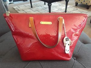 Louis Vuitton Aunthetic Red Bag for Sale in Indianapolis, IN