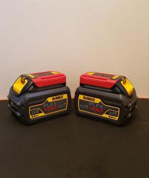 New (2) Batteries Dewalt Flexvolt 6.0 FIRM PRICE for Sale in Woodbridge, VA