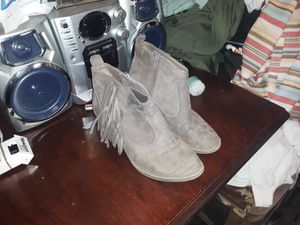 Fringe boots 7.5 for Sale in Asheboro, NC