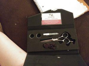 Left handed hair cutting scissors for Sale in Wichita, KS