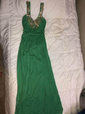 green prom dress for Sale in Fullerton, CA