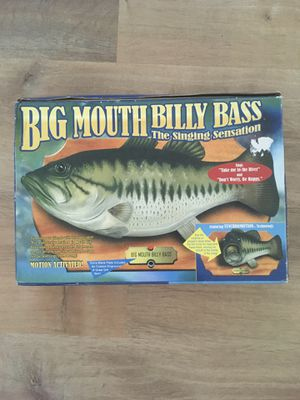 Big Mouth Billy Bass: The Singing Sensation for Sale in Lititz, PA
