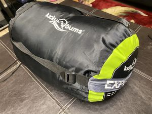 """Lucky Bums Youth Sleeping Bag 74"""" - Green Gray for Sale in North Las Vegas, NV"""