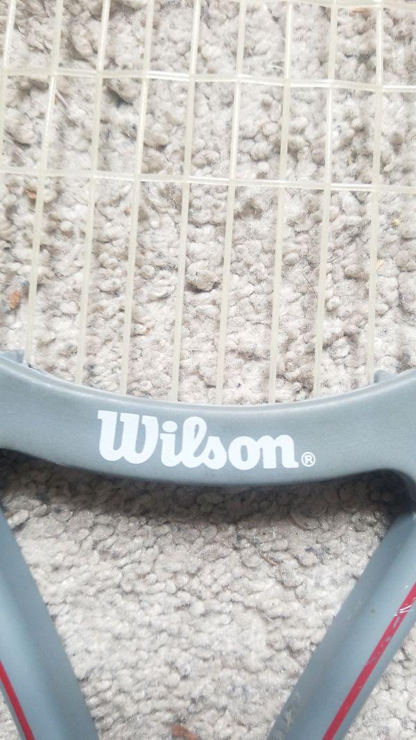 Wilson mid-size tennis racket