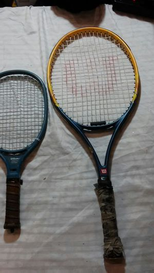 Wilson tennis racket (2) for Sale in Chicago, IL