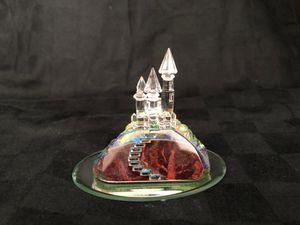 Swarovski crystal castle with mirror for Sale in Coral Springs, FL