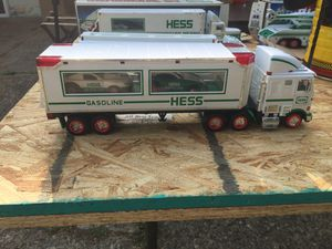 Hess toy transporter truck for Sale in Canton, OH