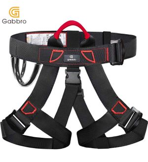 Climbing Harness, Thickened Wider Safety Harness to Protect Waist, Safety Gear Climbing Rope for Fall Protection, Harness for Work at Height Fire Res for Sale in Upland, CA