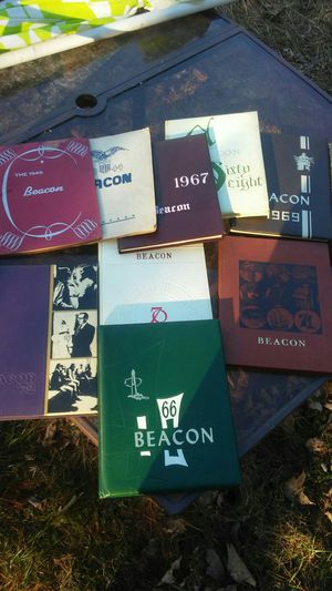 High school year books 1944 46 1970 there is 8 or 9 for Sale in Sunbury, OH