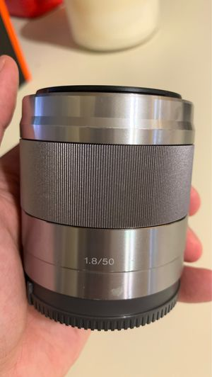 Sony 50mm 1.8 OSS Lens for Sale in El Sobrante, CA