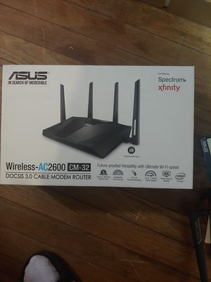 Asus AC2600 CM-32 for Sale in Seattle, WA