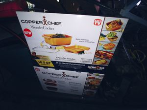 Copper chef sets for Sale in West Seneca, NY
