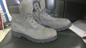 Timberland construction Boots size 11 grey for Sale in Fort Lauderdale, FL