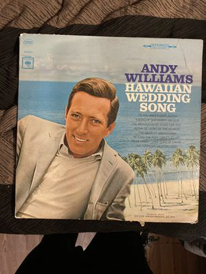 Andy Williams Hawaiian wedding song vinyl record for Sale in Torrance, CA
