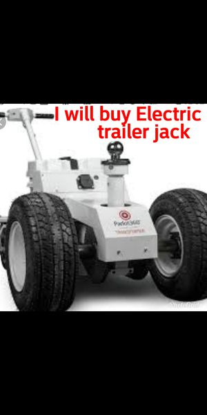 I will buy electric trailer jack must be in good working condition for Sale in San Bernardino, CA