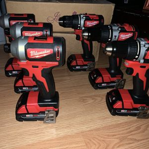 New Milwaukee Tools $$85 EACH with 1.5 Battery NO CHARGER for Sale in San Jose, CA
