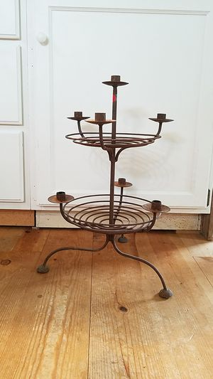 iron candelabra for Sale in Puyallup, WA