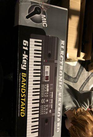Digital Music Piano Keyboard 61 Key for Sale in Mojave, CA