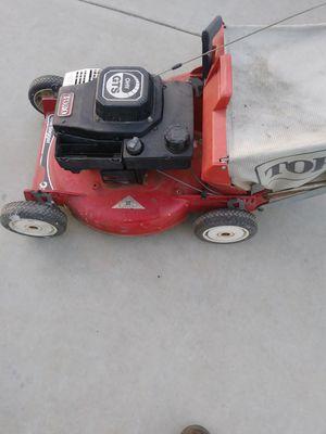 Toro lawn mower not working for Sale in Riverside, CA