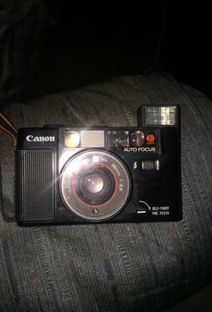 Canon Sure Shot AF35M 35mm Film Point and Shoot Camera 38mm f2.8 TESTED for Sale in Detroit, MI