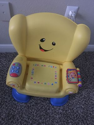 kids chair,fisher price music chair $15 for Sale in Dublin, OH