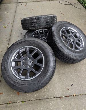 Brand new 2020 Jeep Gladiator wheels and tires for Sale in Land O' Lakes, FL